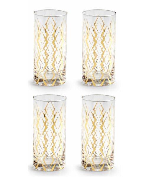 La Cite 14 oz. Highball Glass (Set of 4) by Rosanna