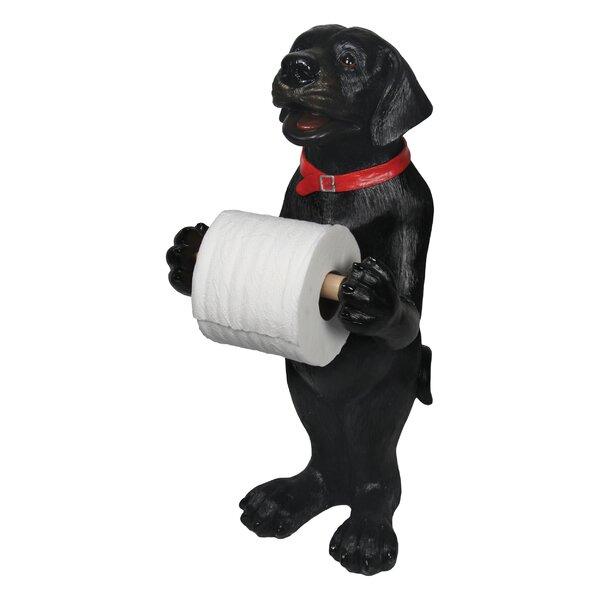 Standing Lab Freestanding Toilet Paper Holder