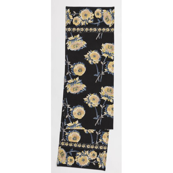 Corum Sunflower Floral Table Runner by August Grove