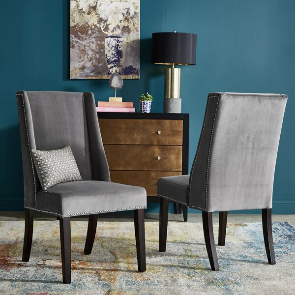 Elmo Wingback Chair (Set of 2) by Willa Arlo Interiors Willa Arlo Interiors