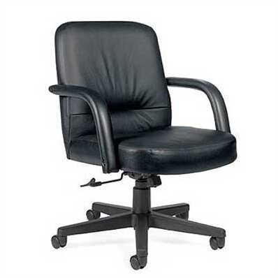 Sienna Leather Desk Chair by Global Total Office