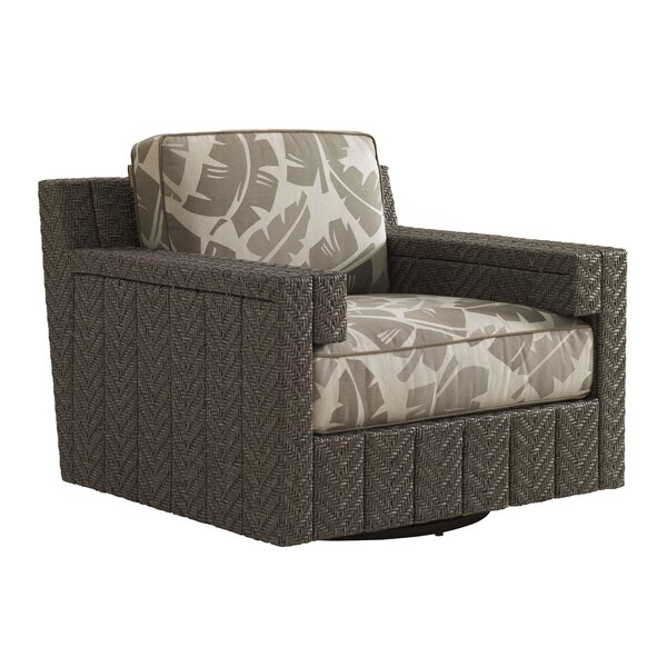 Olive Lounge Patio Chair with Cushion by Tommy Bahama Outdoor