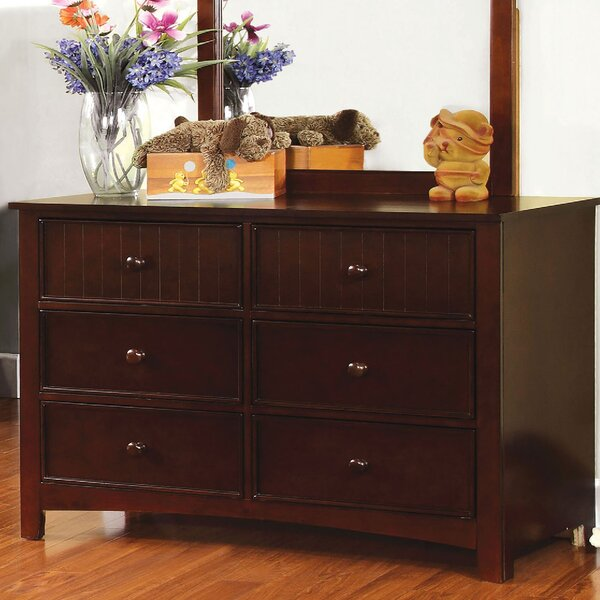 Eliora 6 Drawer Double Dresser By Red Barrel Studio by Red Barrel Studio Fresh