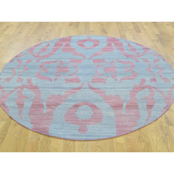 One-of-a-Kind Bogdan Reversible Handmade Kilim Grey Wool Area Rug by Isabelline