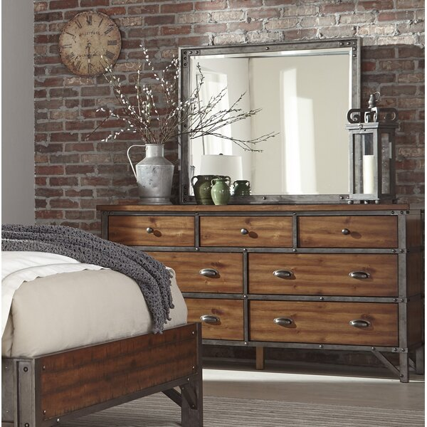 Haverhill 7 Drawer Dresser With Mirror By Williston Forge by Williston Forge Best Choices