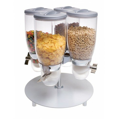 Cylinder 473 Oz. Cereal Dispenser by Cal-Mil