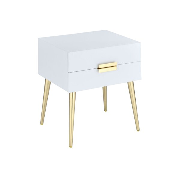 Leite 2-Drawer End Table with Storage by Everly Quinn