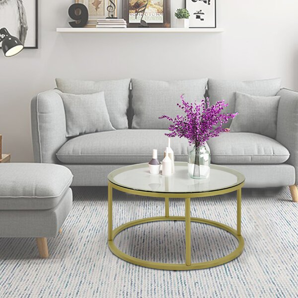 Cawthon Coffee Table By Everly Quinn