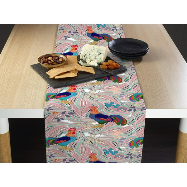 Amiya Roosters Nest Table Runner by August Grove