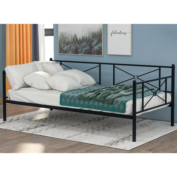 Basilton Twin Metal Daybed By Red Barrel Studio