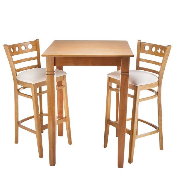 Isaias 3 Piece Pub Table Set by Winston Porter