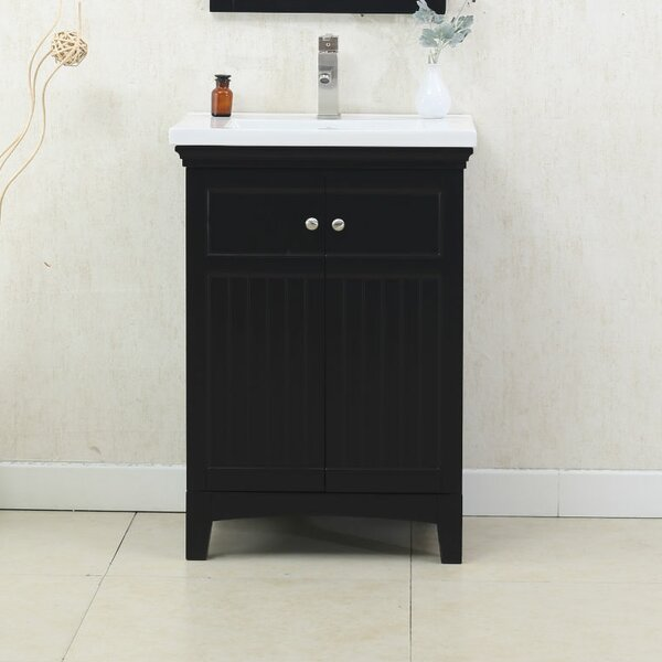 Perrone 24 Single Bathroom Vanity Set by Three Posts