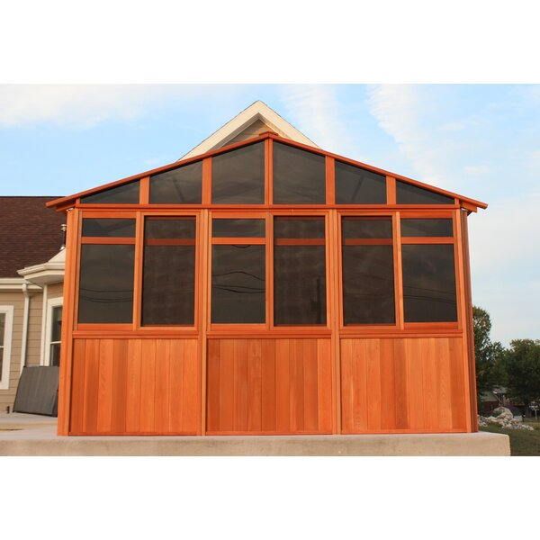 Solchalet 12.5 Ft. W x 8.5 Ft. D Solid Wood Patio Gazebo by Westview Manufacturing