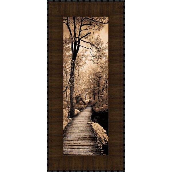 A Quiet Stroll I by Ily Szilagyi Framed Photographic Print by Tangletown Fine Art