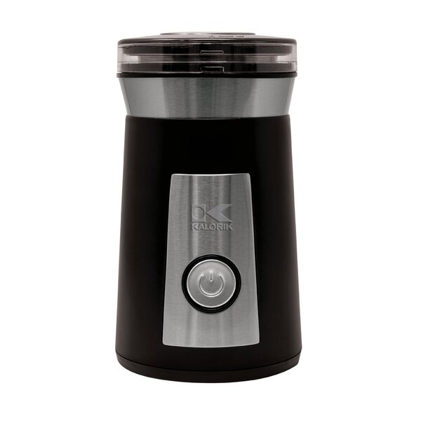 Herb Stainless Steel Electric Blade Coffee Grinder by Kalorik