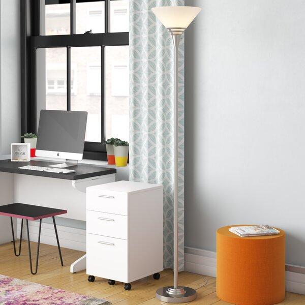 Guzzetta 75.5 Torchiere Floor Lamp by Ebern Designs