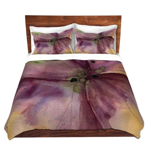 Pansy III Duvet Cover Set