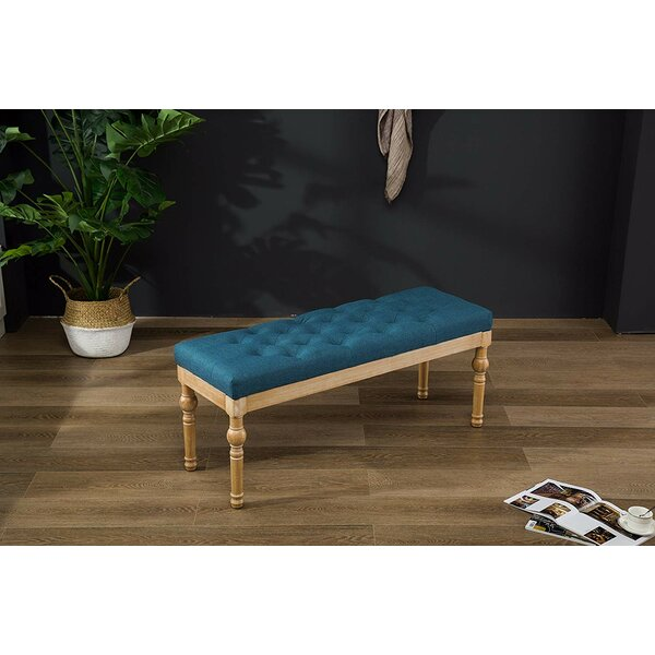 Vester Upholstered Bench by Ophelia & Co. Ophelia & Co.