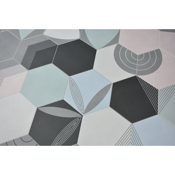 Norway 7 x 8 Porcelain Field Tile