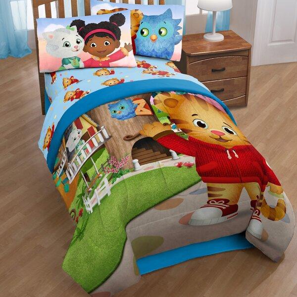 Daniel Tiger Treehouse Pals Reversible Comforter by Disney
