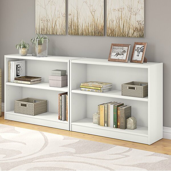 Morrell Standard Bookcase (Set of 2) by Andover Mi
