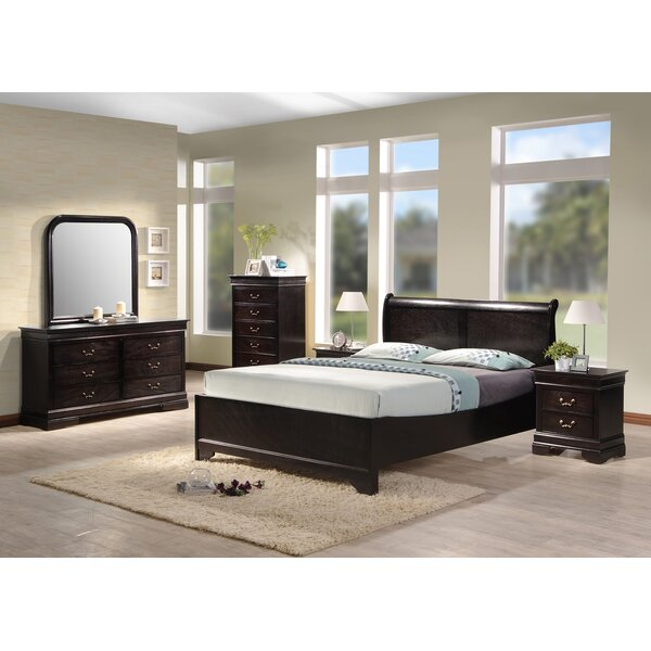 Apolonio Panel 4 Piece Bedroom Set by Darby Home Co