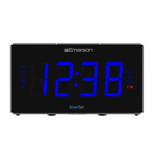 Smart Set Sound Therapy Alarm Desktop Clock by Emerson Radio Corp.