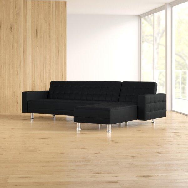 Rosina 32-inch Reversible Sleeper Sectional By Zipcode Design