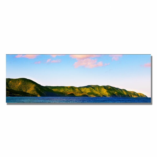 St. Croix Sunrise by Preston Framed Photographic Print on Wrapped Canvas by Trademark Fine Art