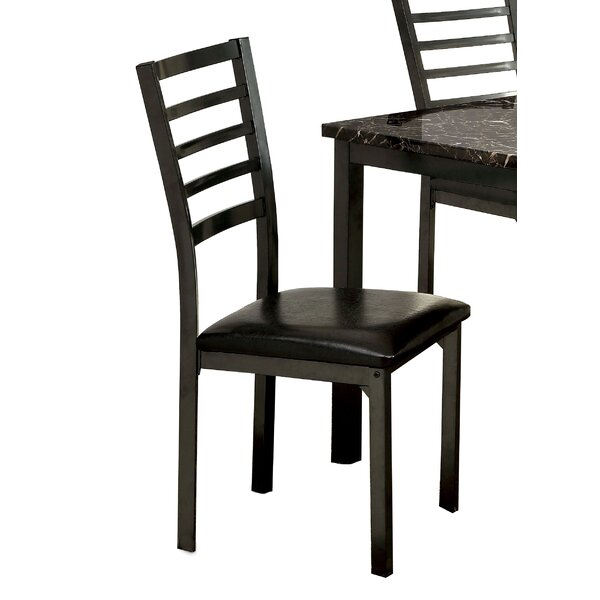 Crawford Upholstered Dining Chair (Set of 4) by Hokku Designs