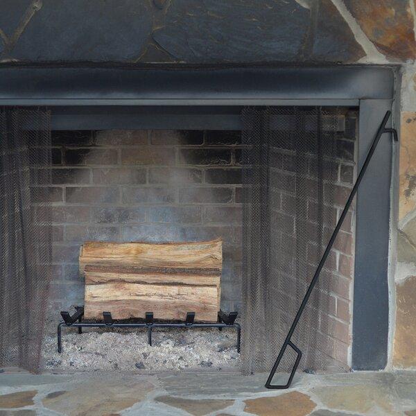 Heavy Duty Steel Fireplace Poker by Heritage Products