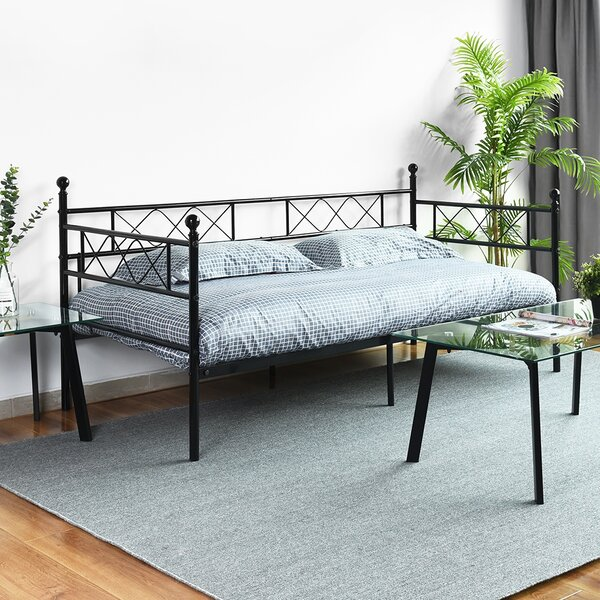 Elkhart Twin Metal Daybed By Winston Porter