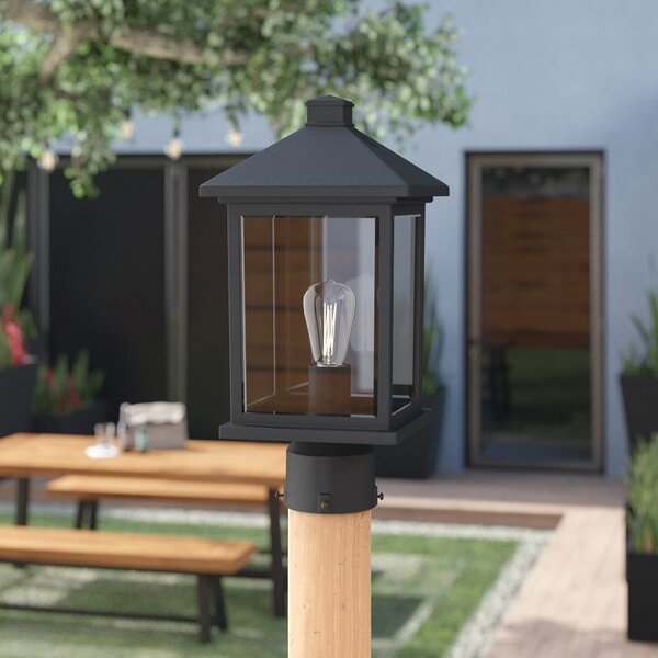 Leroy 1-Light Lantern Head by 17 Stories