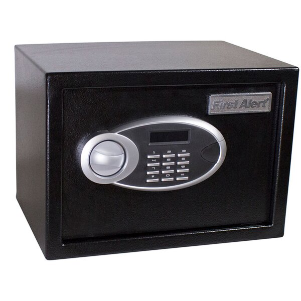 Anti-Theft Safe Box with Dual-Lock by First AlertAnti-Theft Safe Box with Dual-Lock by First Alert