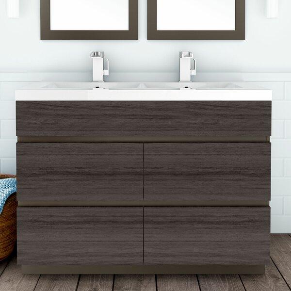 Boardwalk 48 Double Bathroom Vanity Set