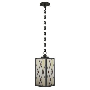 Reviews Brett 1-Light Outdoor Hanging Lantern By Loon Peak