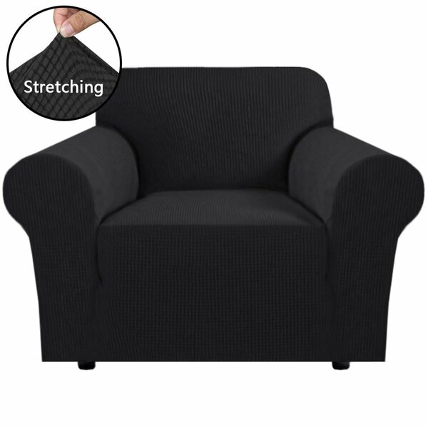 Stretch T-Cushion Armchair Slipcover By Symple Stuff