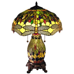 Savings Quince Double Lit 23 Table Lamp By August Grove