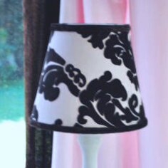 Paris 8 Empire Lamp Shade by Blueberrie Kids