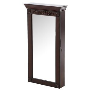 Franklin Wall Mount Jewelry Armoire with Mirror by Wildon Home ?