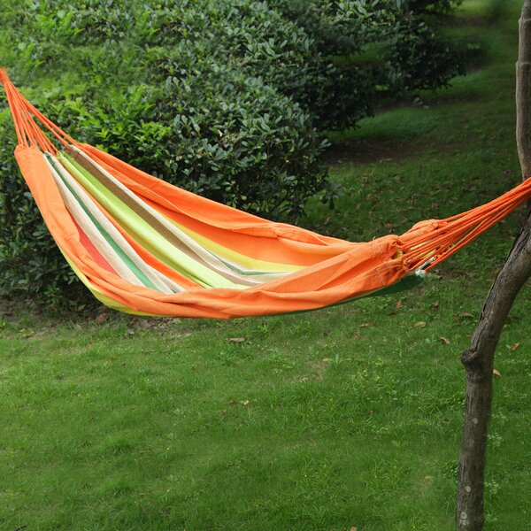Hanging Suspended Tree Hammock with Stand by Adeco Trading