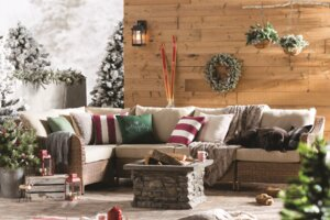 Enjoy Your Patio in Cold Weather With These 6 Winter Patio Ideas