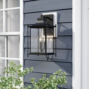 Compare prices Vanhouten 3-Light Outdoor Wall Lantern By Winston Porter