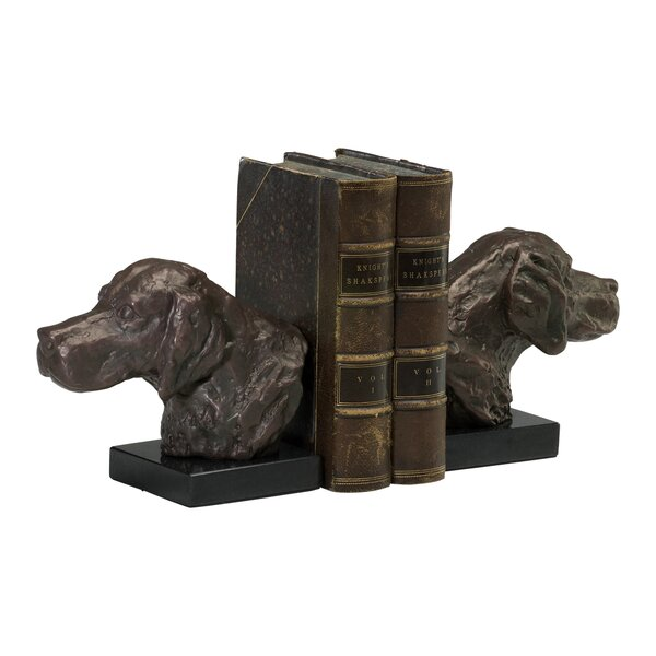 Hound Dog Book Ends (Set of 2) by Cyan Design