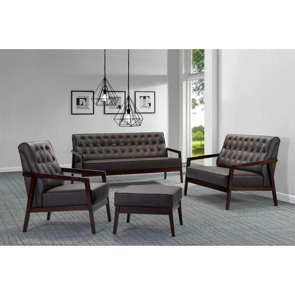 Copenhagen Configurable Living Room Set by Kaleidoscope Furniture