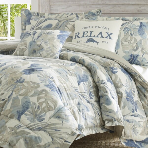 Raw Coast Cotton Reversible Comforter Set
