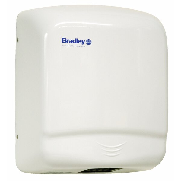 Aerix Hand Dryer in White by Bradley Corporation