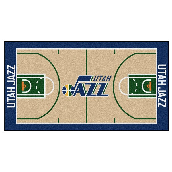 NBA - Utah Jazz NBA Court Runner Doormat by FANMATS