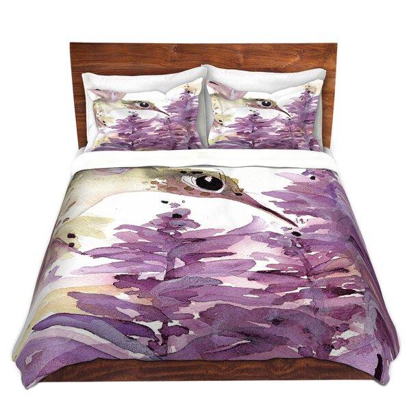 Lavender Hummer Duvet Cover Set