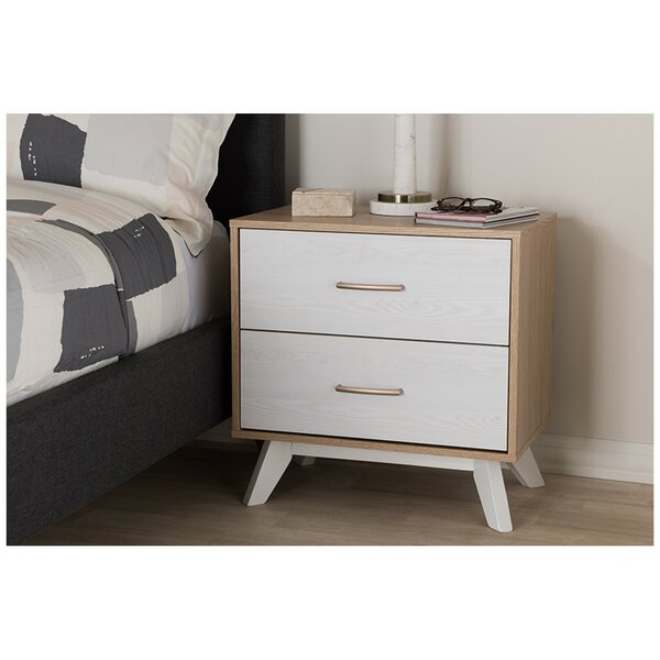Carruthers 2 Drawer Nightstand by Corrigan Studio
